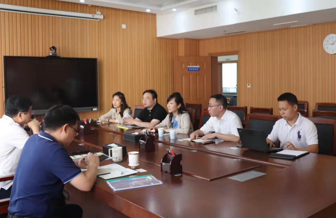 五矿证券有限公司创融部总经理邵明菲一行莅临集团公司洽谈业务